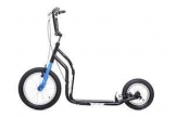 Yedoo Scooter/Tretroller CITY - NEW Model 2014 (Schwarz-Blau) - 1